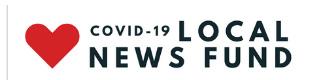 covid 19 local news fund logo link