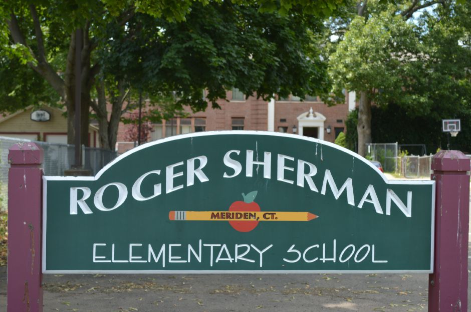Roger Sherman Elementary School in Meriden. | Clare Dignan Special to the Record-Journal