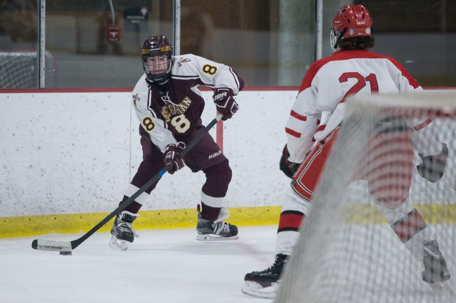 Joey Richo was one of seven Titans who scored in Sheehan's 12-5 victory over JBWA late Wednesday night at the Danbury Ice Arena. The 12 goals were a team record and they catapulted the Titans (7-2) to their fourth straight win.