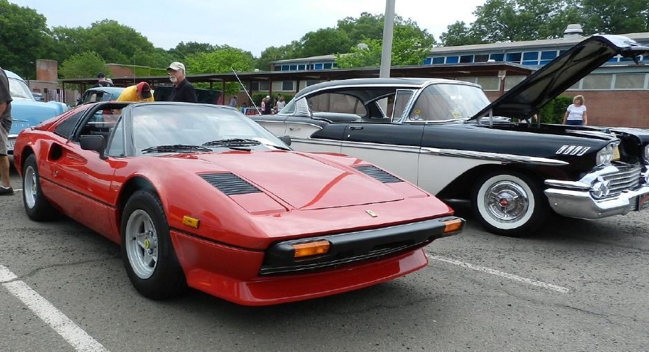 "Classic cars on display at the first ""Big Mike"" car show, held in honor of a North Haven man who died in 2015, at North Haven Middle School on May 31, 2015. The fourth annual event is scheduled for early next month at Masonicare in Wallingford."