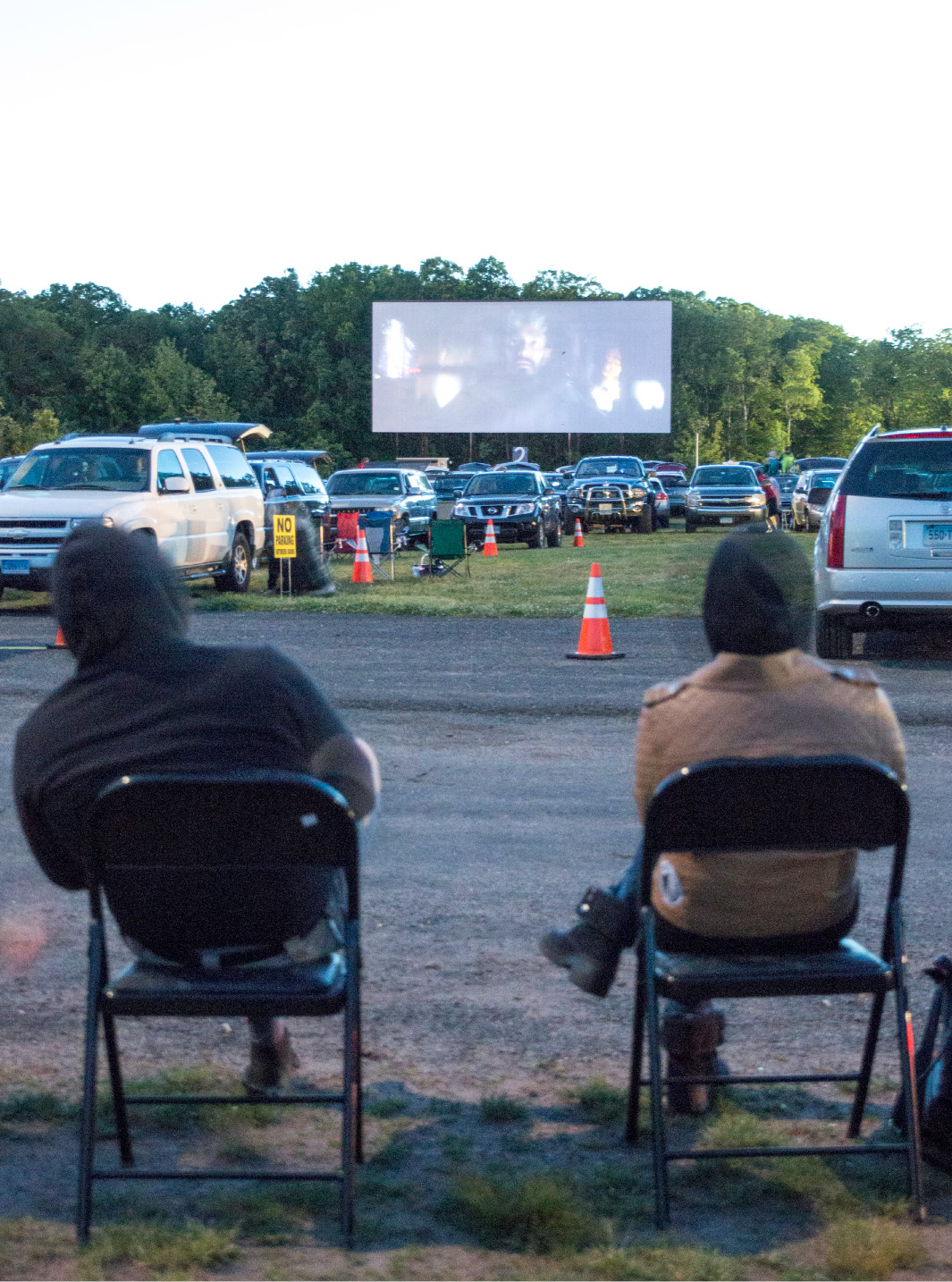 Star Wars: Rogue One plays at the Southington Drive-In