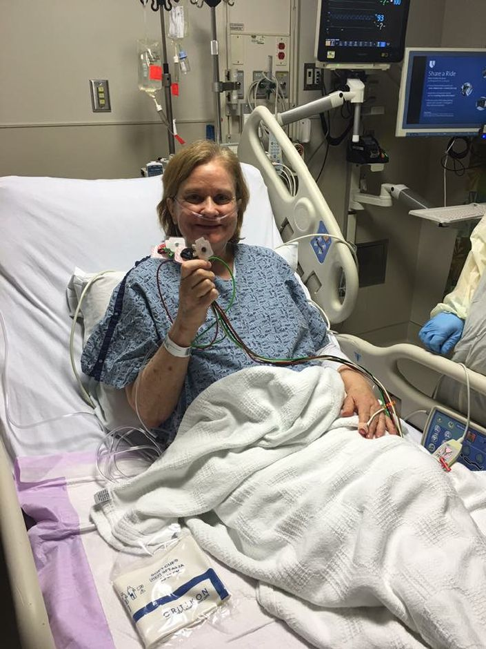 Karen Carlson, a double lung transplant recipient, is preparing for the Donate Life Gala to spread awareness of being an organ donor. |Karen Carlson, contributed
