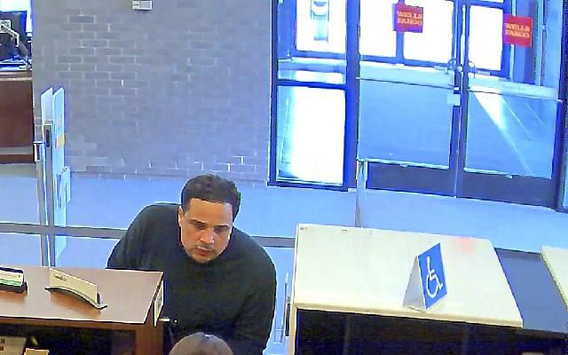 Police released security camera photos and video from a bank robbery in Meriden Tuesday. Anyone with information is asked to call 203-630-6334.
