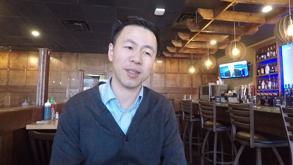 Tommy Zhuo owner of FunJu Noodle Bar, 20 Ives Rd., Wallingford. | Ashley Kus, Record-Journal