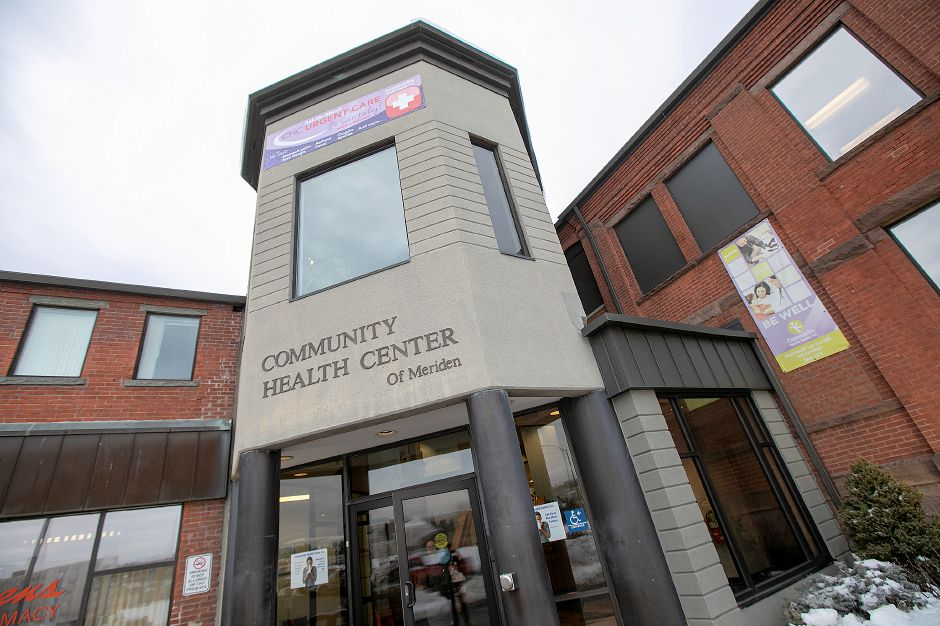 Community Health Center on State Street in Meriden, Wed., Jan. 23, 2019. Community Health Center Inc. has launched a community health worker pilot program. Dave Zajac, Record-Journal
