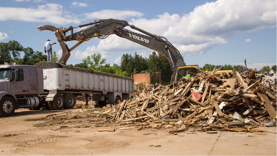 FILE PHOTO: Demolition continues at the former Ideal Forging site in Southington, July 23, 2015. | Eric Vo / Record-Journal