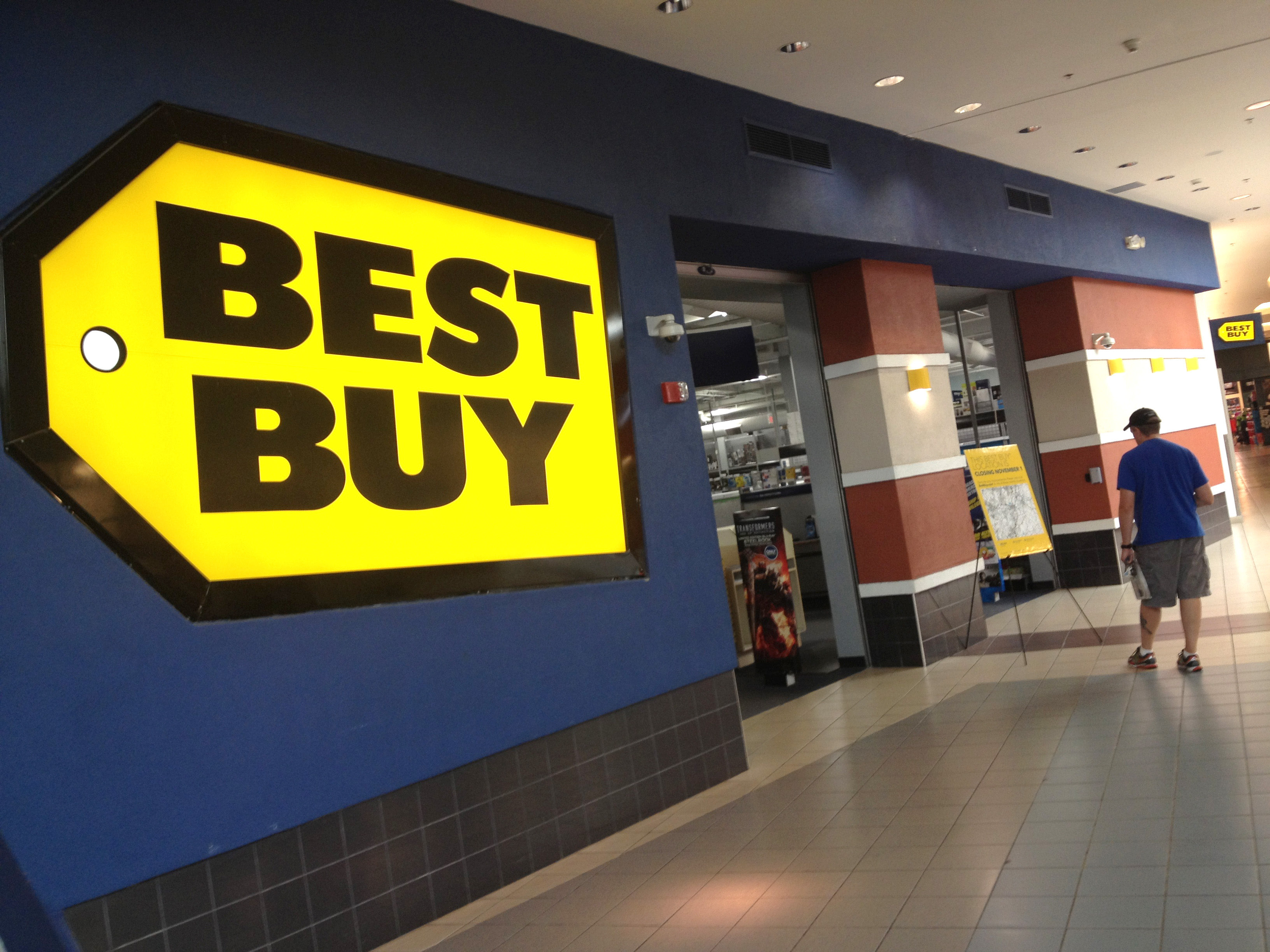 Electronics Retailer Best Buy, An Anchor Store