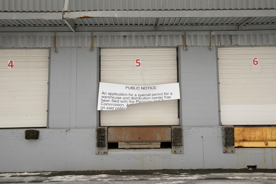 A warehouse/distribution facility is proposed for this building at 425 S. Cherry St. in Wallingford, Thurs., Dec. 5, 2019. Dave Zajac, Record-Journal