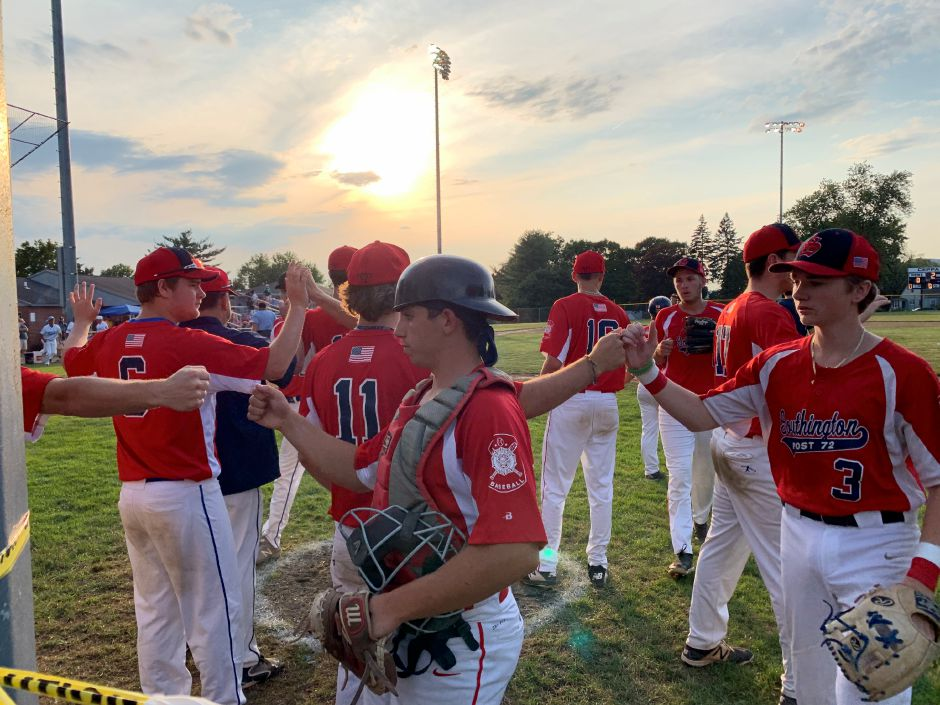 Southington Post 72 fell to Stamford 2-1 in the Game 1 of the American Legion state finals at Ceppa Field on Friday night in Meriden.