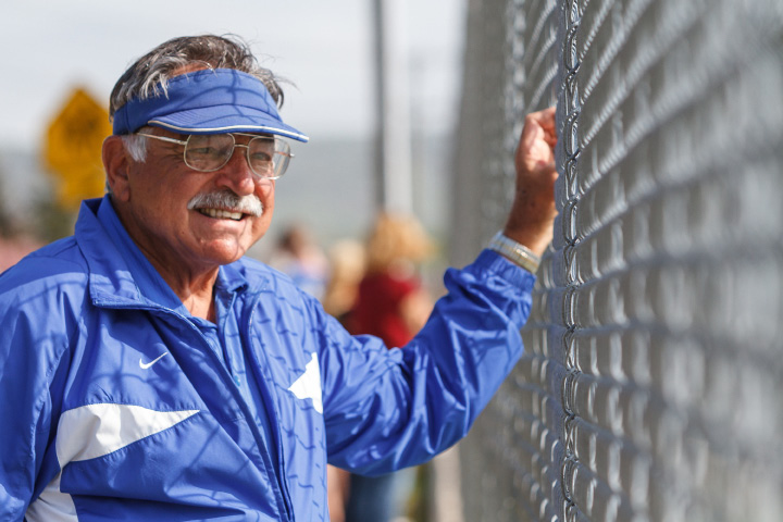 Southington High boys tennis Tony Mauro and the Southington tennis community lost a good friend when Ed Kalat passed away this week in South Carolina. | Justin Weekes / For the Record-Journal