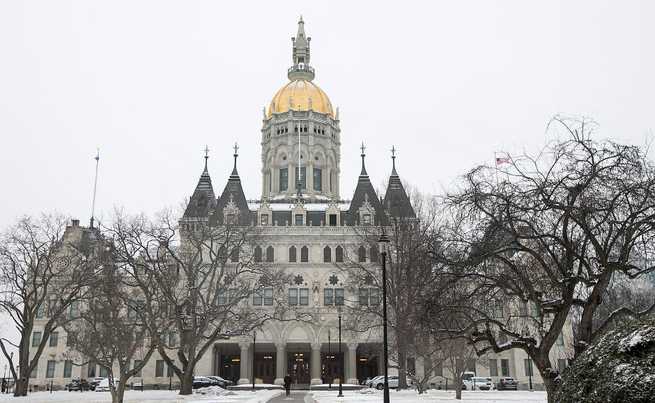 FILE PHOTO: The Connecticut State Capitol on opening day of the 2018 legislative session in Hartford, Wednesday, Feb. 7, 2018. Dave Zajac, Record-Journal