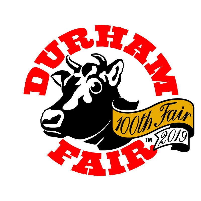 The new logo to celebrate the 100th Durham Fair.