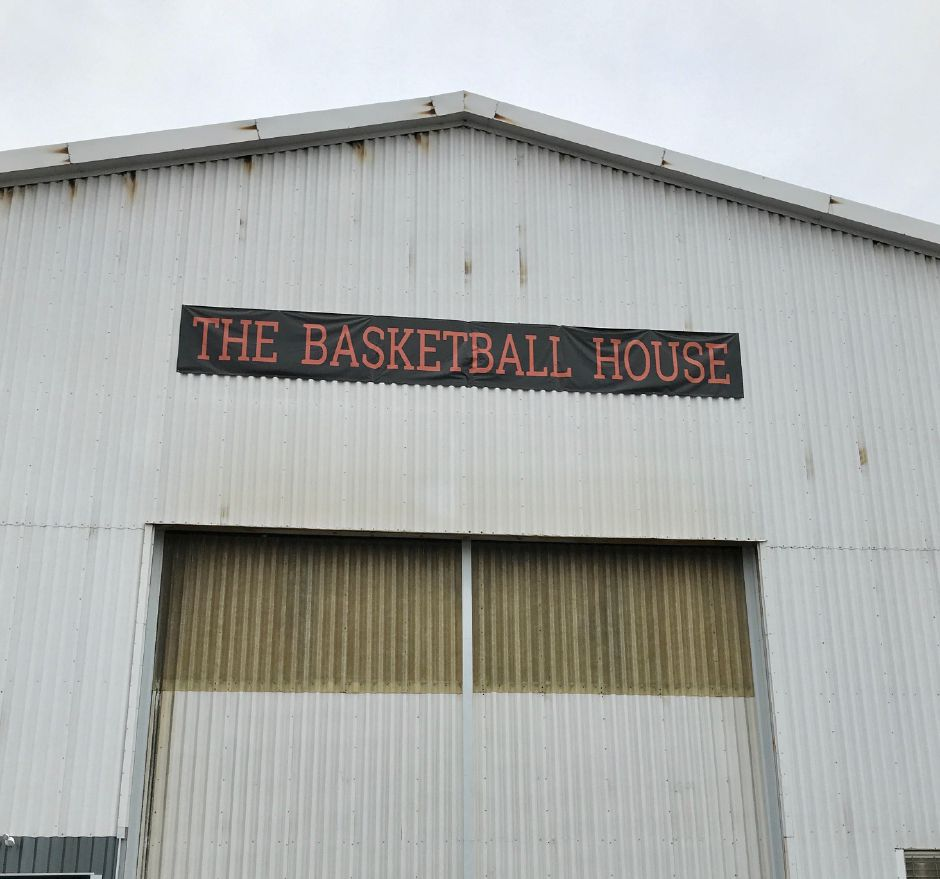 The Basketball House, 75 Neal Court, Plainville. |Brad Fabian, Contributed