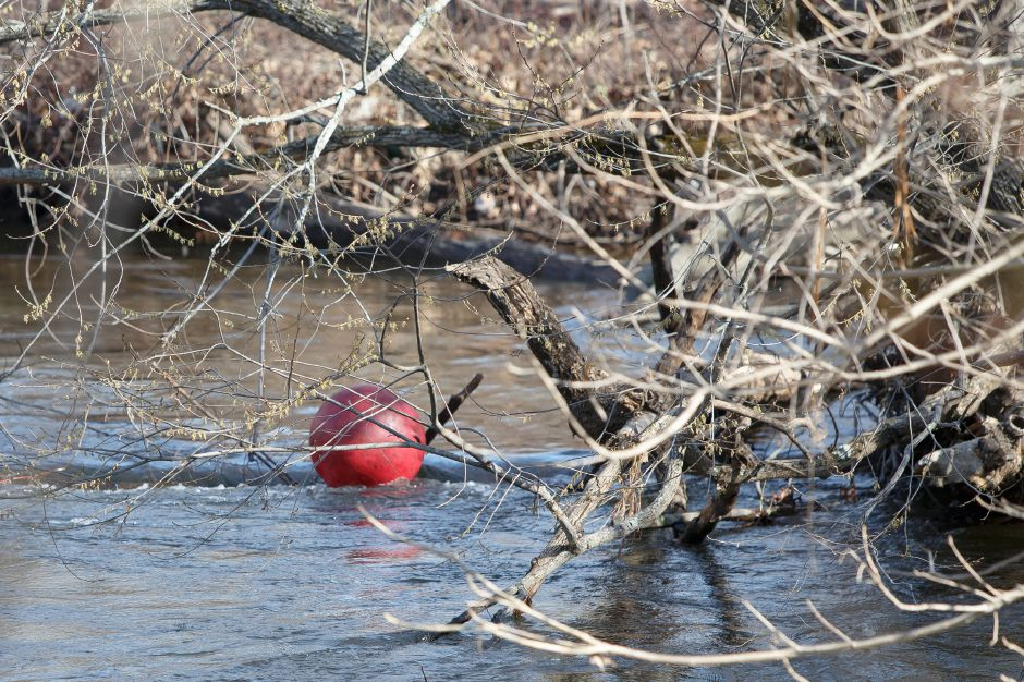Saturday during the Quinnipiac River Watershed Association Spring Source to Sound River Cleanup at Westbrook Lobster in Wallingford April 21, 2018 | Justin Weekes / Special to the Record-Journal