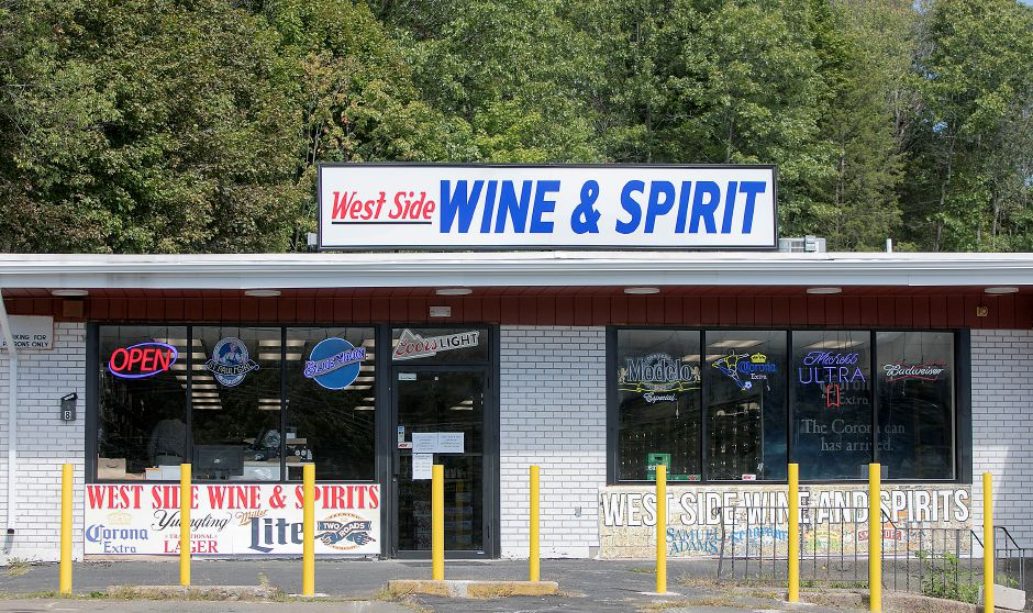 West Side Wine and Spirits on Hope Hill Road in Wallingford, Wednesday, Sept. 13, 2017. The store recently opened at the corner of Hope Hill Road and Highland Avenue after about a year of renovations. The owners will also be opening Suburban Market grocery store next door in early 2018. | Dave Zajac, Record-Journal