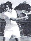 Meriden native Lois Felix learned to play tennis on the courts of Brookside Park behind her Bunker Avenue home. She went on to become one of the beset tennis players in the country, ranked eighth amogng women in 1954 after winning four major singles titles along with several doubles championships. Felix was inducted into the Meriden Hall of Fame in 1978 and the New England Tennis Hall of Fame in 1990. | Photo courtesy of Meriden Hall of Fame
