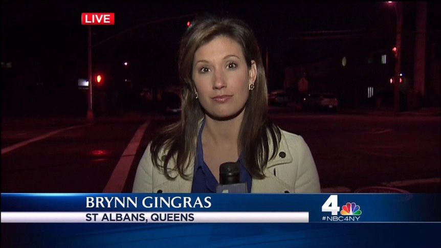 Brynn Gingras, a Lyman Hall High School graduate, is a New York City based National Correspondent for CNN. Before she worked at CNN she was at NBC Connecticut but before that she starred on the basketball court at Lyman Hall and then Yale University.