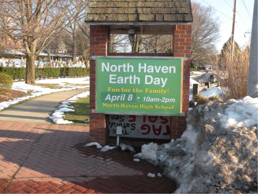 The ninth annual North Haven Earth Day celebration takes place Saturday, April 8 at NHHS. | Ken Liebeskind, The North Haven Citizen