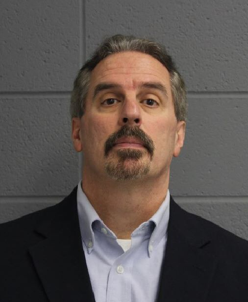 Kevin Miezejeski, 54, of Ivoryton was arrested by North Haven Police on Saturday, Dec. 16, 2017 for allegedly embezzling $220,000 from a local lawn care business. | Courtesy of North Haven Police