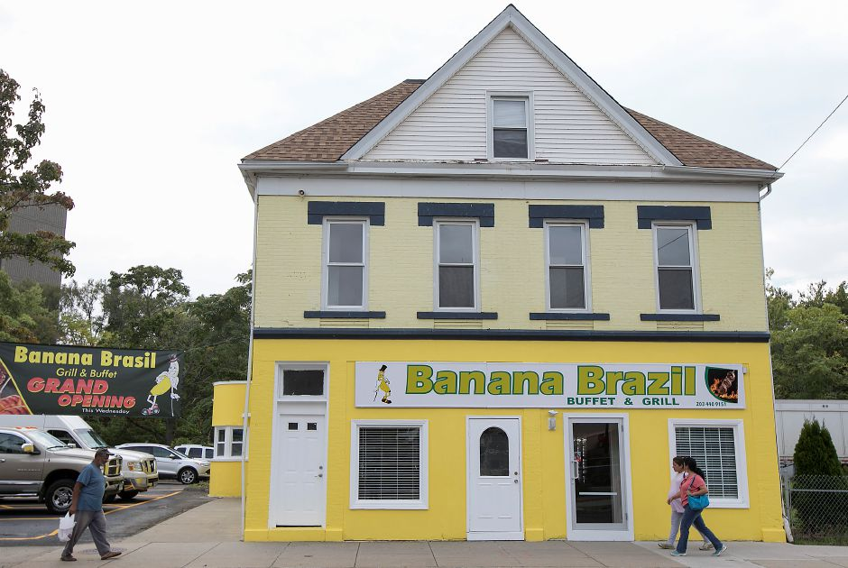 Banana Brazil Buffet and Grill on Hanover Street in Meriden, Thursday, Sept. 14, 2017. The business opened Wednesday. | Dave Zajac, Record-Journal