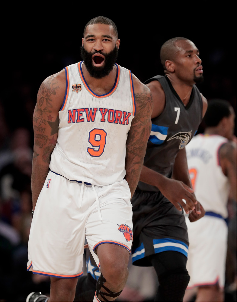 New York Knicks center Kyle O
