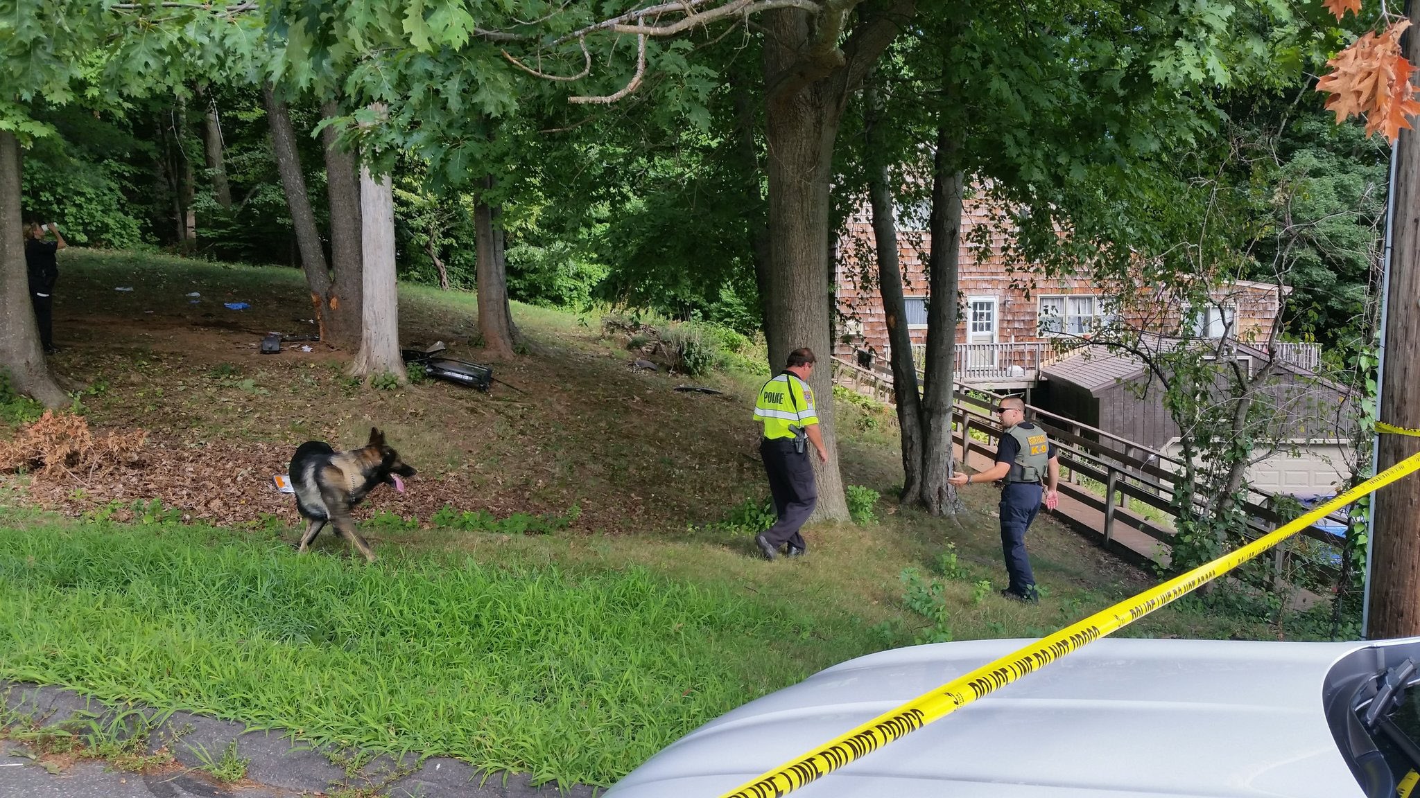 MERIDEN — City police continue to investigate a one-car