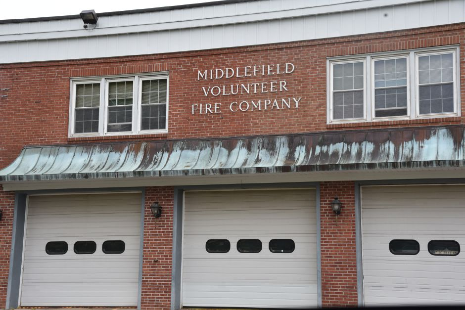 Middlefield Volunteer Fire Company, 406 Jackson Hill Rd., pictured May 23, 2019. | Bailey Wright, Record-Journal