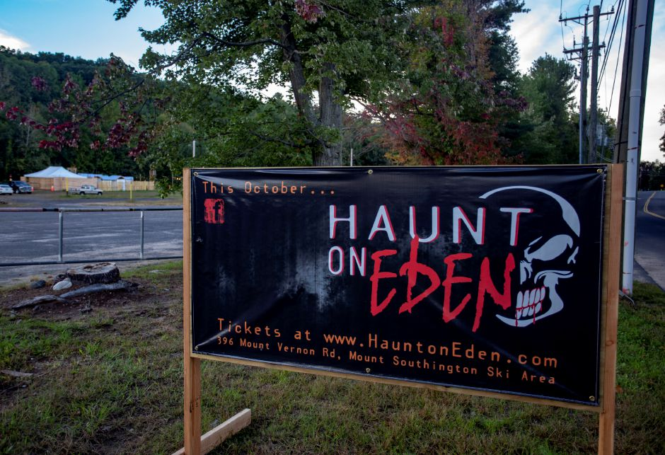 The Haunt on Eden moved to Mount Southington this year to accomodate the growing attraction. | Richie Rathsack, Record-Journal