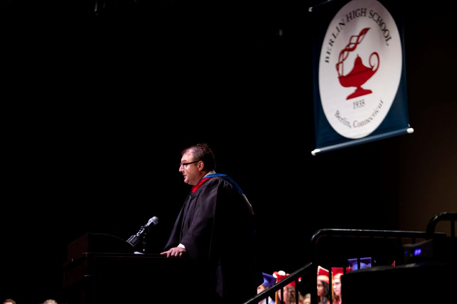 Berlin Superintendent of Schools Brian Benigni said the class of 2018