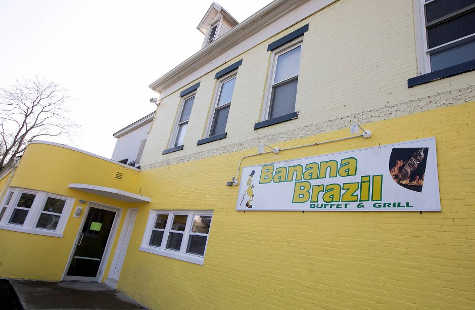Banana Brazil on Hanover Street in Meriden remains closed, Wednesday, Feb. 14, 2018. A fire shut down the business Monday morning. | Dave Zajac, Record-Journal