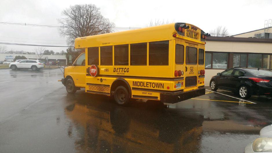 School bus crash reported in Wallingford