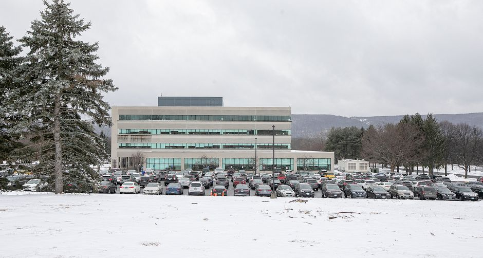 Proposed site for a LongHorn Steakhouse in front of the Webster Bank Resource Center off West Street in Southington, Mon., Feb. 18, 2019. Dave Zajac, Record-Journal