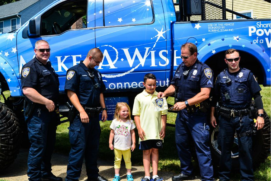 FILE PHOTO: Nico's Lemonade Stand drew a large crowd Sunday, including many local police officers.| Jim McGovern, For The Citizen