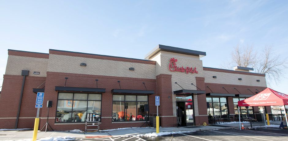 The new Chick-fil-A on Queen Street in Southington, Wednesday, Jan. 10, 2018. | Dave Zajac, Record-Journal