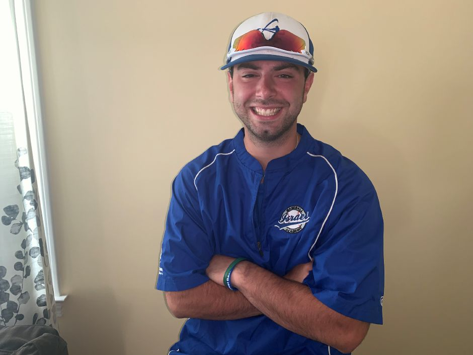 Meriden resident Dallas DeFrancesco is continuing his playing and coaching baseball career in Israel.