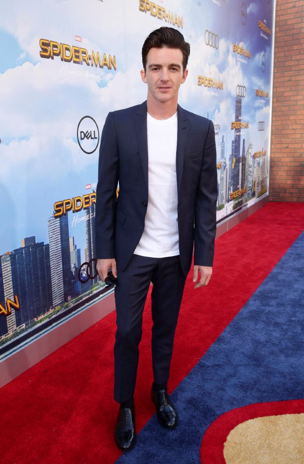 "Drake Bell seen at Columbia Pictures World Premiere of ""Spider-Man: Homecoming"" at TCL Chinese Theatre on Wednesday, June 28, 2017, in Hollywood, CA. (Photo by Steve Cohn/Invision for Sony Pictures/AP Images)"