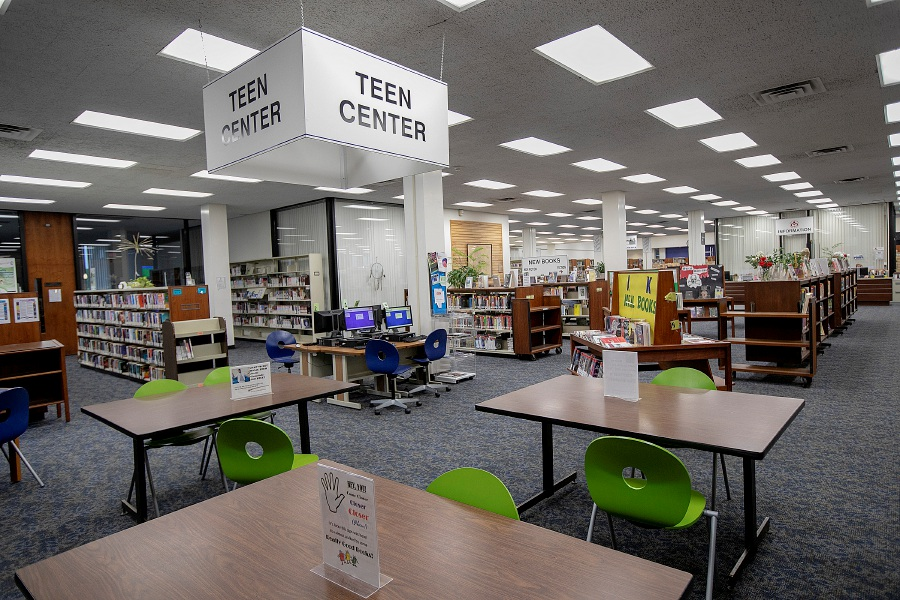 The Teen Center at the Meriden Public Library, Wednesday, Sept. 12, 2018. Dave Zajac, Record-Journal