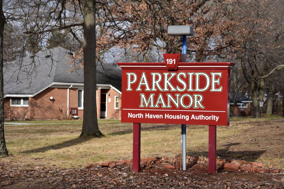 Parkside Manor Housing, 191 Pool Rd. in North Haven, on Monday, Dec. 17, 2018. The town recently completed exterior site improvements and replacement of the fire alarm system thanks to a grant from the U.S. Department of Housing and Urban Devleopment through the Small Cities Program. | Bailey Wright, Record-Journal