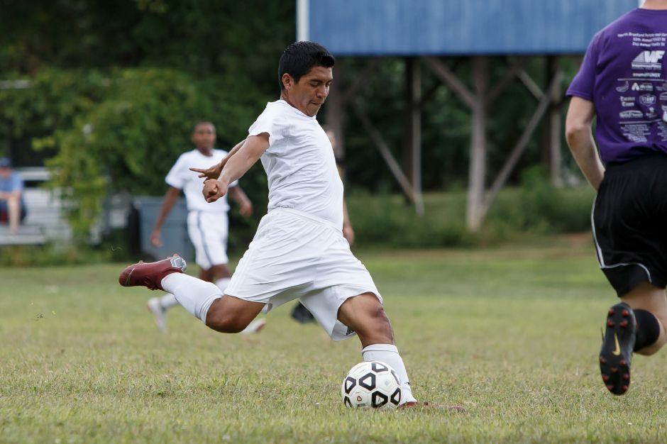 Kelvin Cortez broke a Wilcox Tech single-season record with 34 goals last season. Cortez was later named All-State Class L and All-Record-Journal.