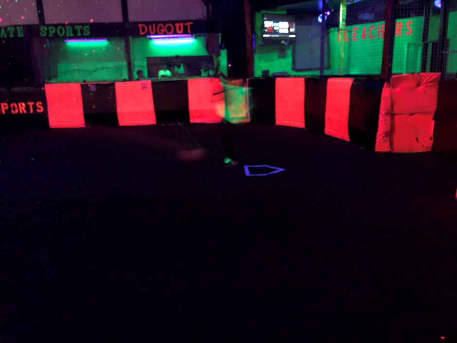 A glow-in-the-dark party at Ultimate Sports & Party Center, 120 Church St., Yalesville. Friday, Jan. 25, 2019. |Courtesy of Paul Cambra
