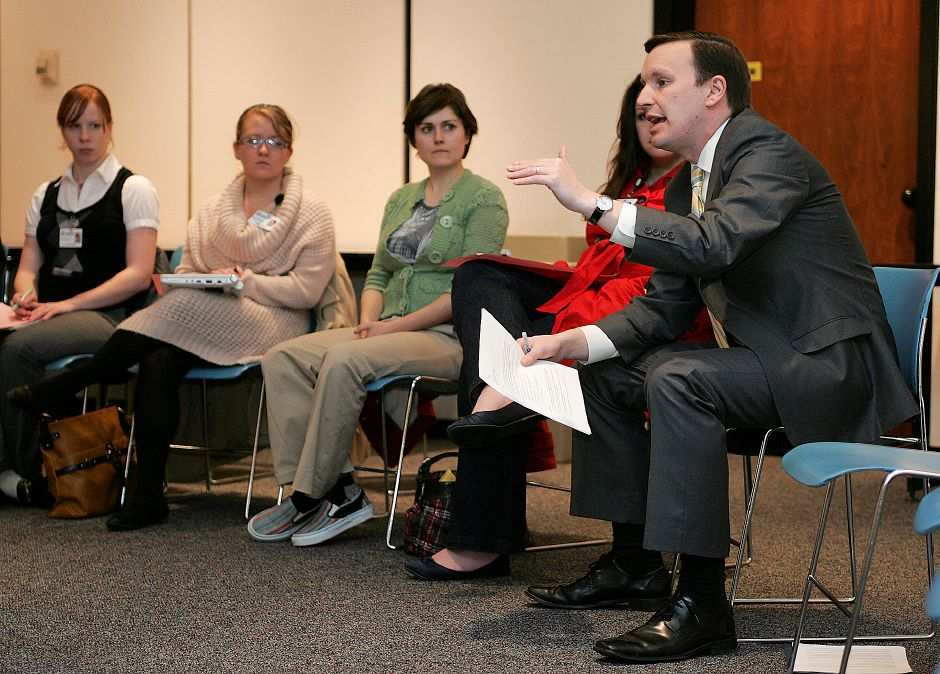Congressman Chris Murphy hosted a Women