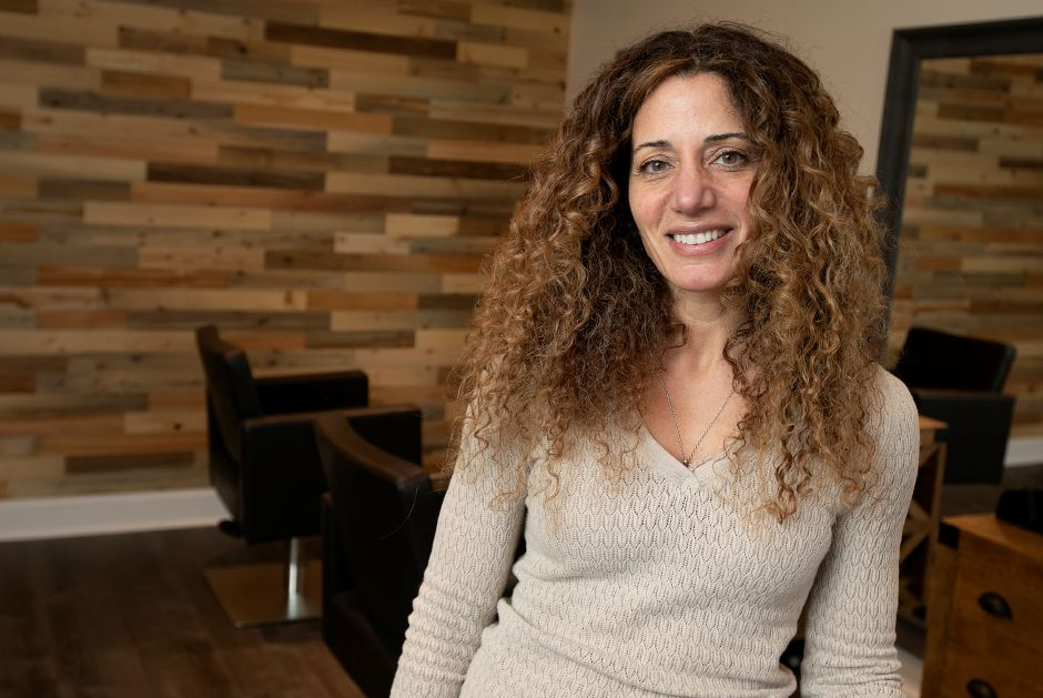 Tina Nazario, of North Haven, is the owner of T&CO, a new salon in The Kimberly Plaza at 540 Washington Ave, North Haven. Dave Zajac, Record-Journal