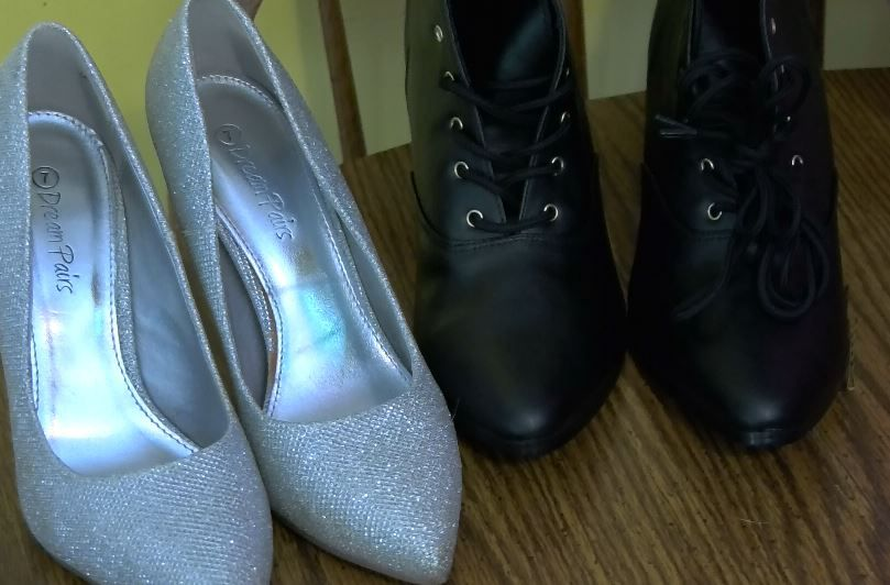 Shoes used for character costumes, Face Candy Art and Entertainment, Meriden. |Ashley Kus, Record-Journal