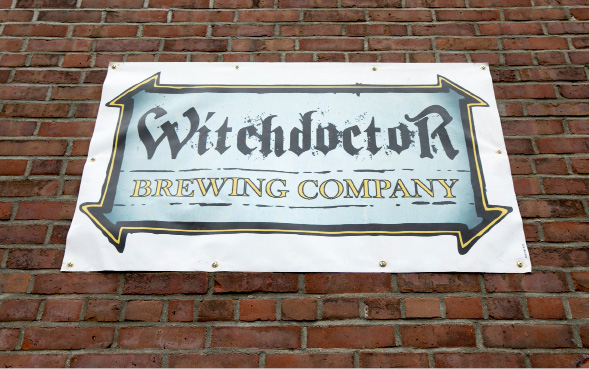 Witchdoctor Brewing Company, a new business in Factory Square on Center Street in Southington, Wednesday, April 26, 2017.  | Dave Zajac, Record-Journal
