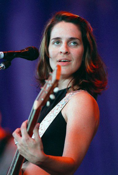 RJ file photo - Tracy Bonham at Lilith Fair, July 1998.