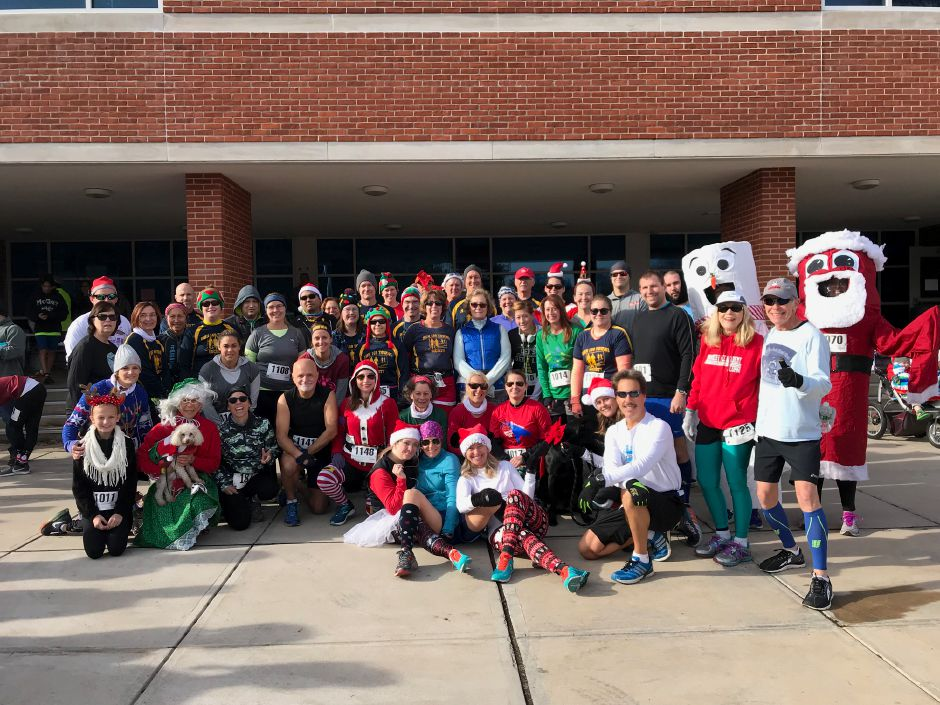 The 33rd Tinsel Fun Run, Saturday, Dec. 2, 2017 at Berlin High School. |Donelle Daigle, contributed