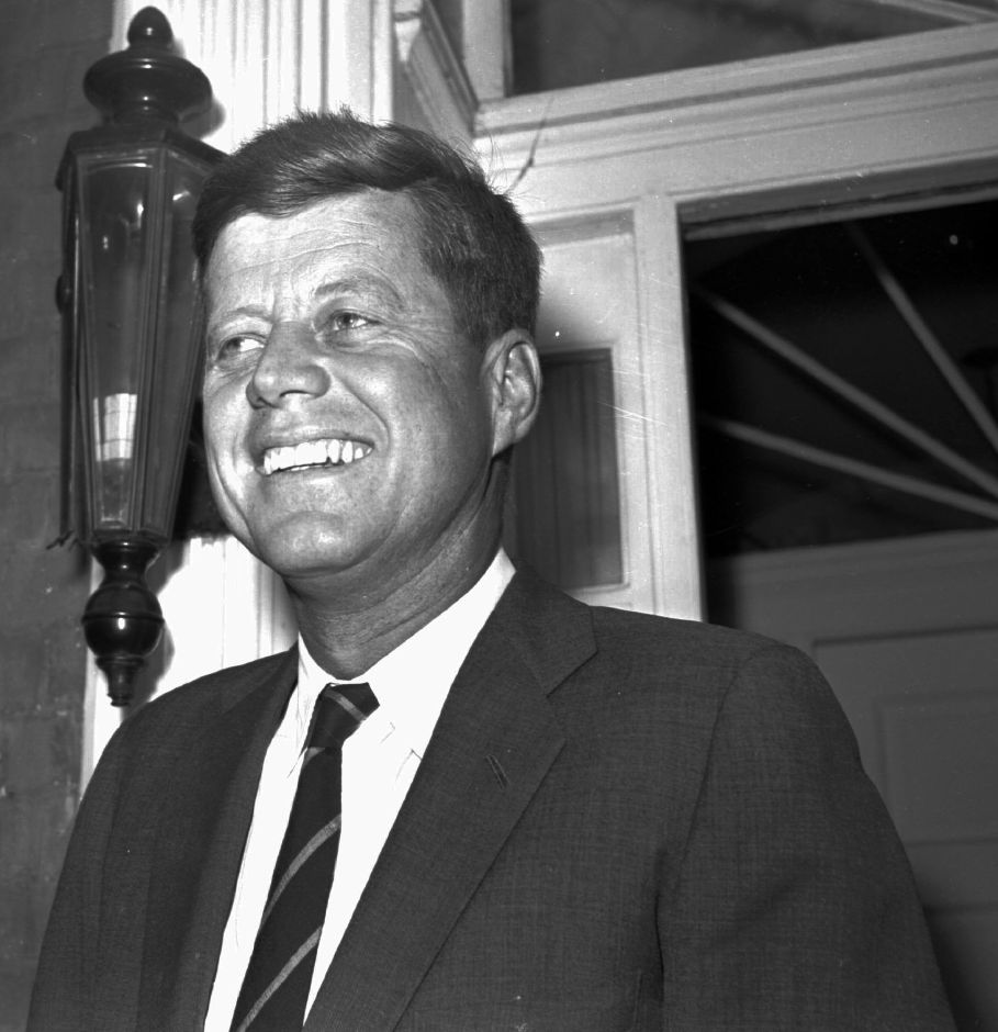 John F. Kennedy, Class of 1935, 35th President of the United States.