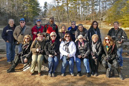 North Haven Camera Club members traveled to Old Sturbridge Village in Massachusetts recently for a guided private tour by the village