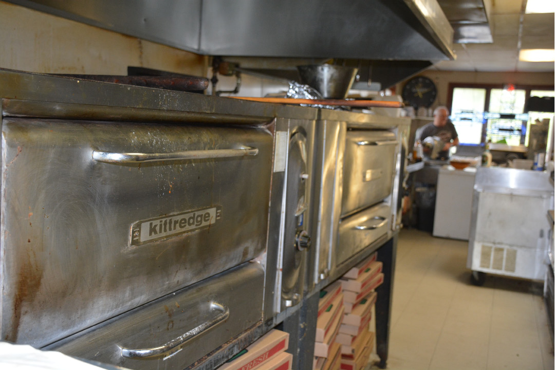 The pizza ovens at Cheshire Pizza located at 133 Highland Ave.  | Ariana D