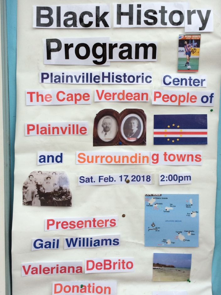 Plainville Historical Center will host an event for Black History Month, Saturday, Feb. 17. |Courtesy of the Historical Center